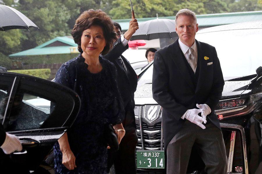 La secrétaire américaine aux Transports, Elaine Chao