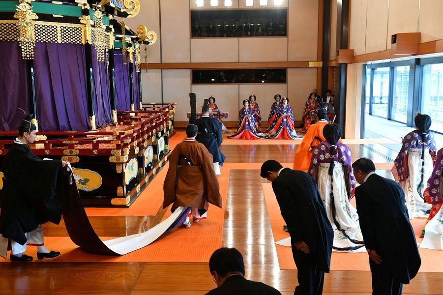 La cérémonie d'intronisation de l'empereur Naruhito