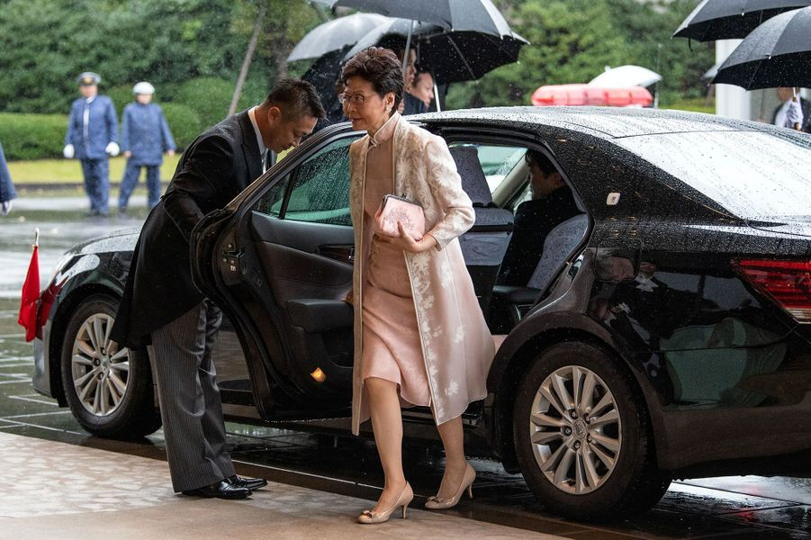 Carrie Lam,cheffe de l'exécutif de Hong Kong