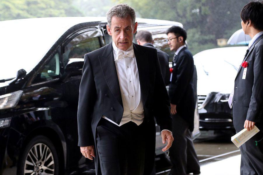 L'ancien président de la République Nicolas Sarkozy
