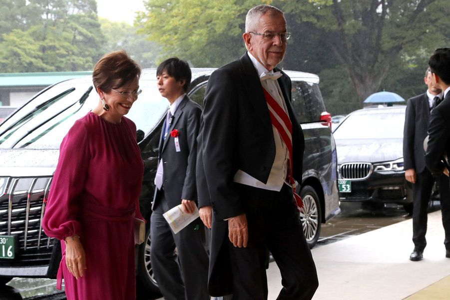Le président autrichien Alexander Van der Bellen