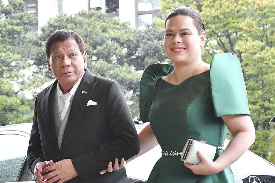 Le président desPhilippines et son épouseCielito Avanceña