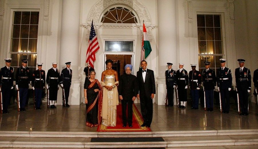 Le Premier ministre indien, Manmohan Singh, a été reçu en grande pompe à la Maison blanche hier soir, avec 320 invités et un repas imaginé par Michelle Obama.