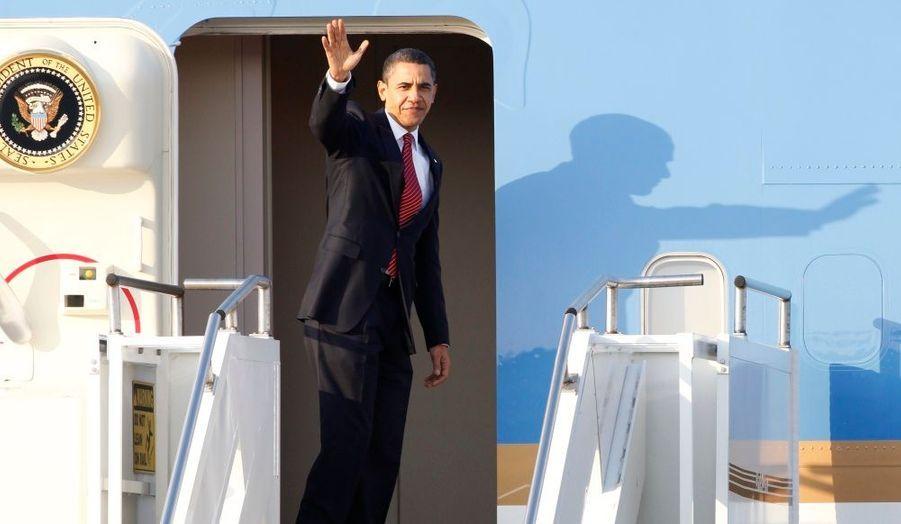 Barack Obama a repris Air Force One, ce jeudi matin, après deux jours de visite en Corée du Sud. Sa tournée asiatique s'est donc achevée après cet ultime étape.