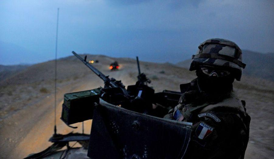 Nos reporters ont suivi la Légion en mission dans la vallée d'Uzbin