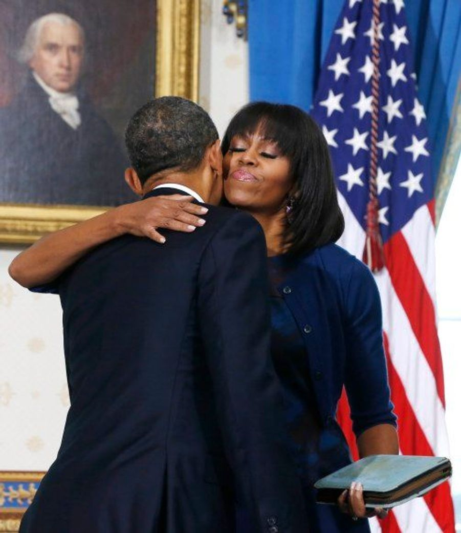 Accolade avec Michelle