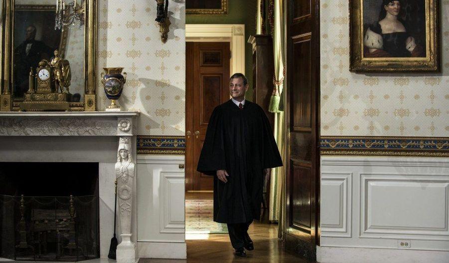 Le président de la Cour suprême, John Roberts