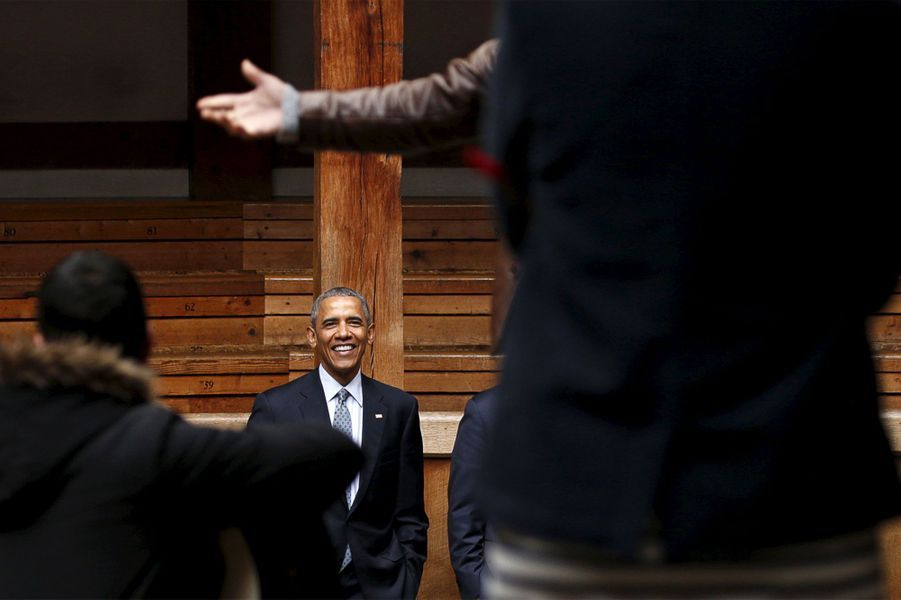 "Obama, ""in love"" de Shakespeare"