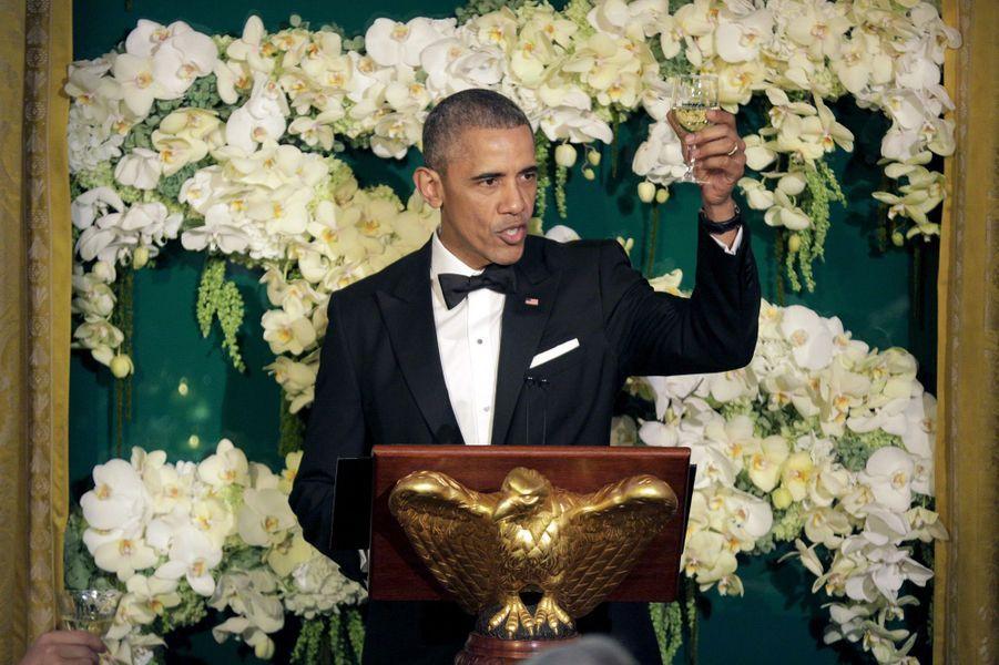 Barack Obama à la Maison Blanche le 10 mars 2016