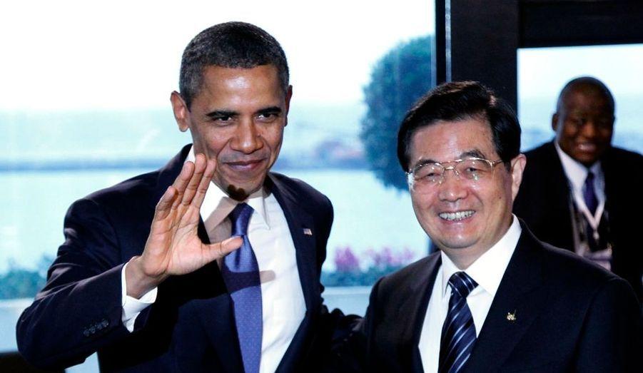 Avec Hu Jintao