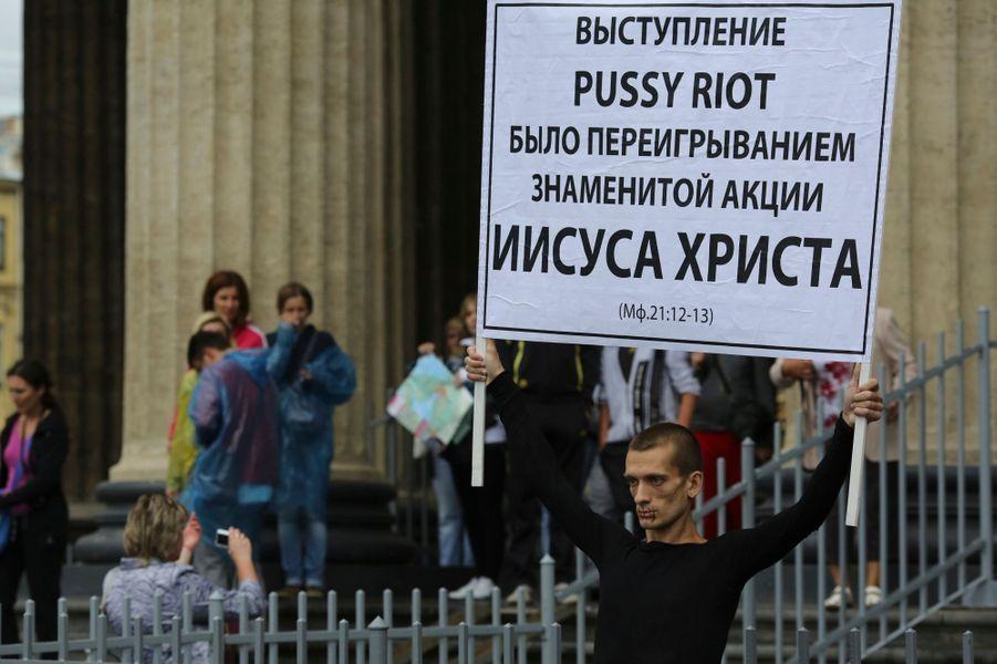En juillet 2012, à Saint-Pétersbourg