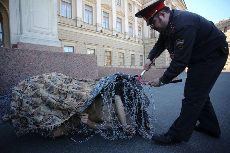 Le 3 mai 2013, à Saint-Pétersbourg