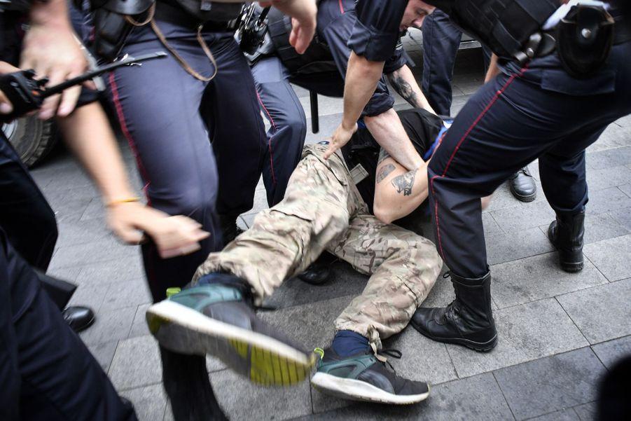 Manifestation à Moscou le 12 juin 2019.