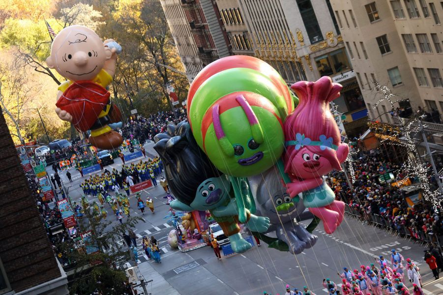 La parade de Thanksgiving à New York ce jeudi.