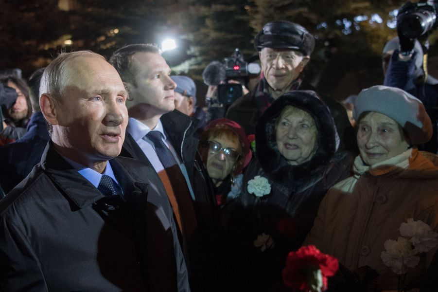 Vladimir Poutine le 30 octobre 2017 à Moscou