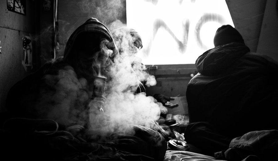 Volute de fumée