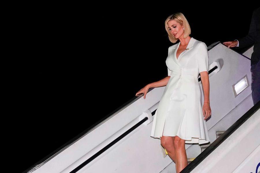 Ivanka Trump arrivant en Colombie, le 3 septembre 2019.