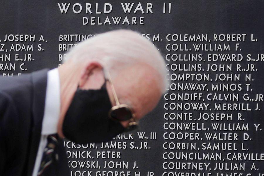 Joe Biden à New Castle, dans le Delaware, le 25 mai 2020.