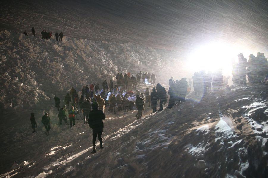 Bahcesaray en Turquie, le 4 février 2020.