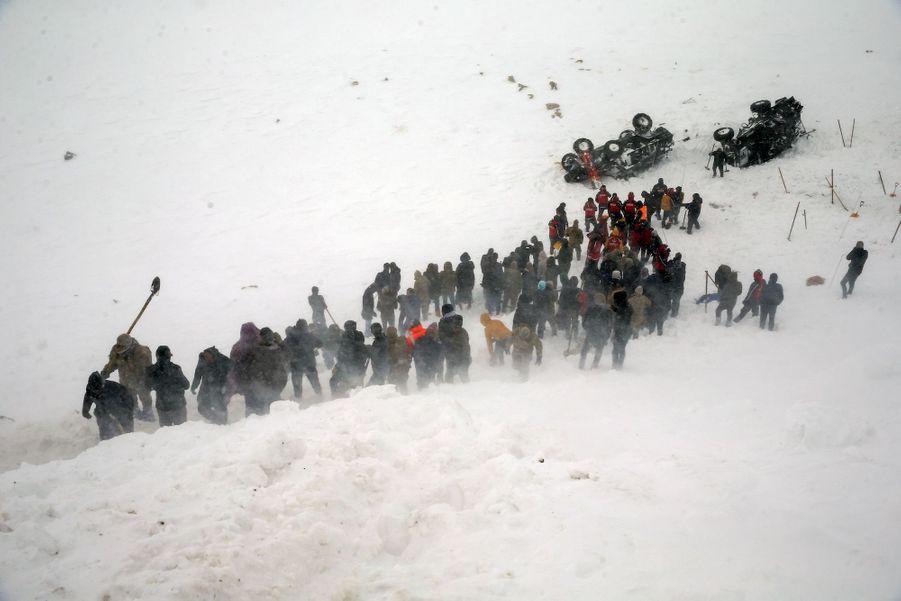 Bahcesaray en Turquie, le 5 février 2020.