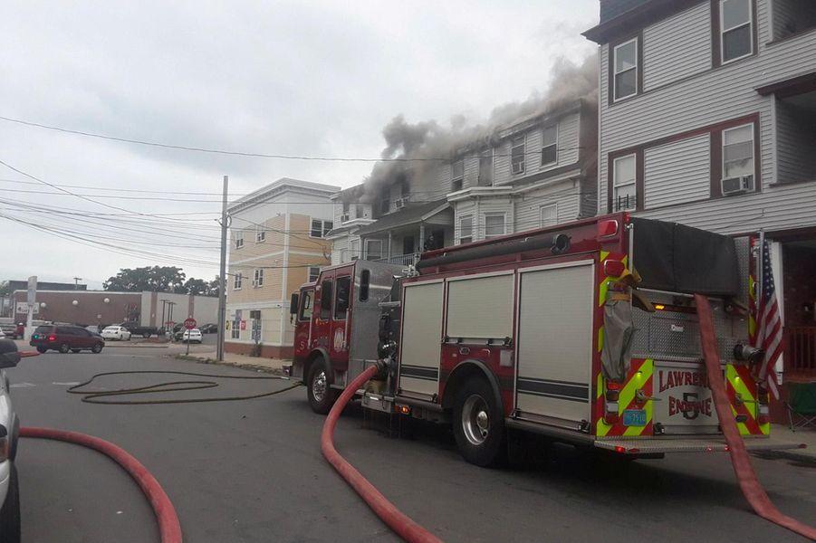 Une fuite de gaz a provoqué des explosions en série près de Boston, le 13 septembre 2018.
