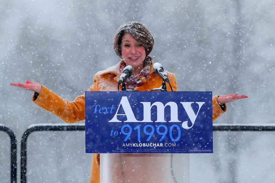 La sénatrice du Minnesota Amy Klobuchar.