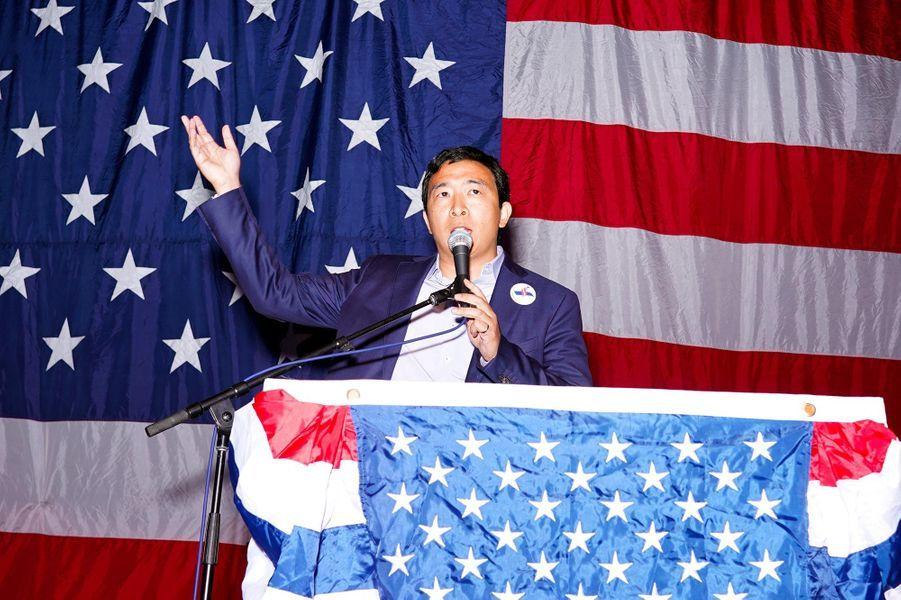 L'entrepreneur Andrew Yang.