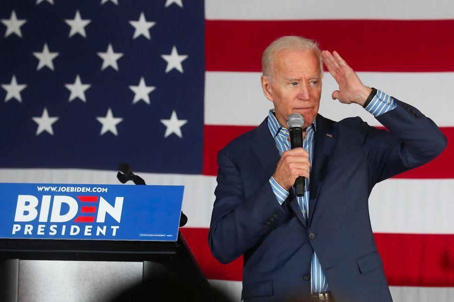 L'ancien vice-président Joe Biden.