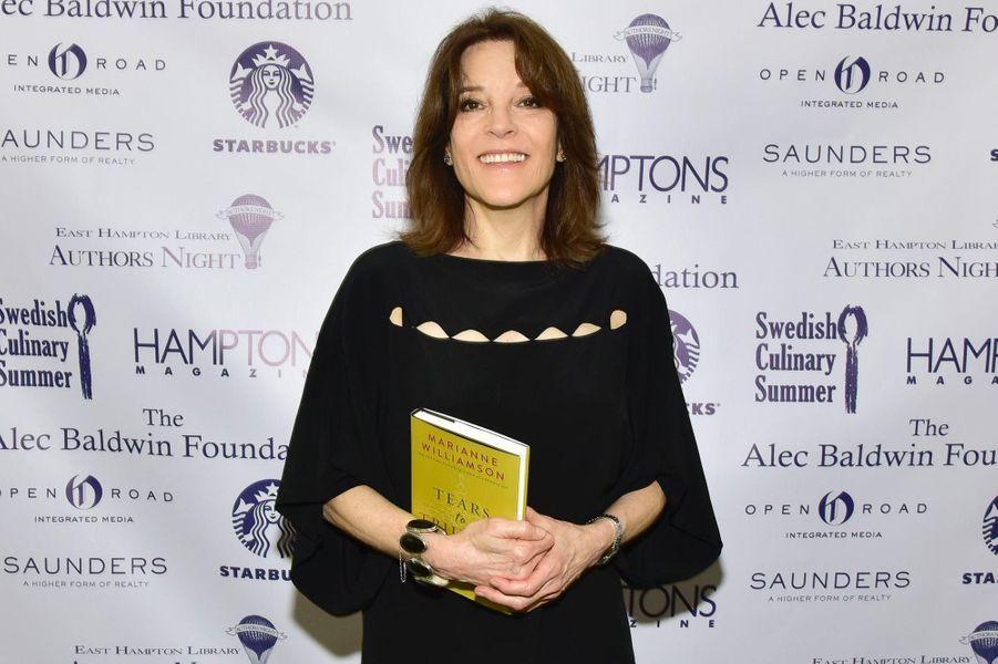 L'auteur Marianne Williamson.