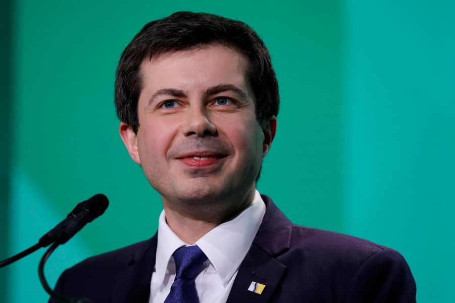 Le maire de South Bend (Indiana) Pete Buttigieg.