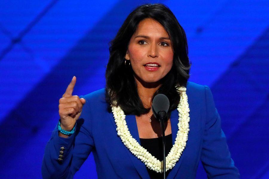 L'élue à la Chambre des représentants pour Hawaï Tulsi Gabbard.