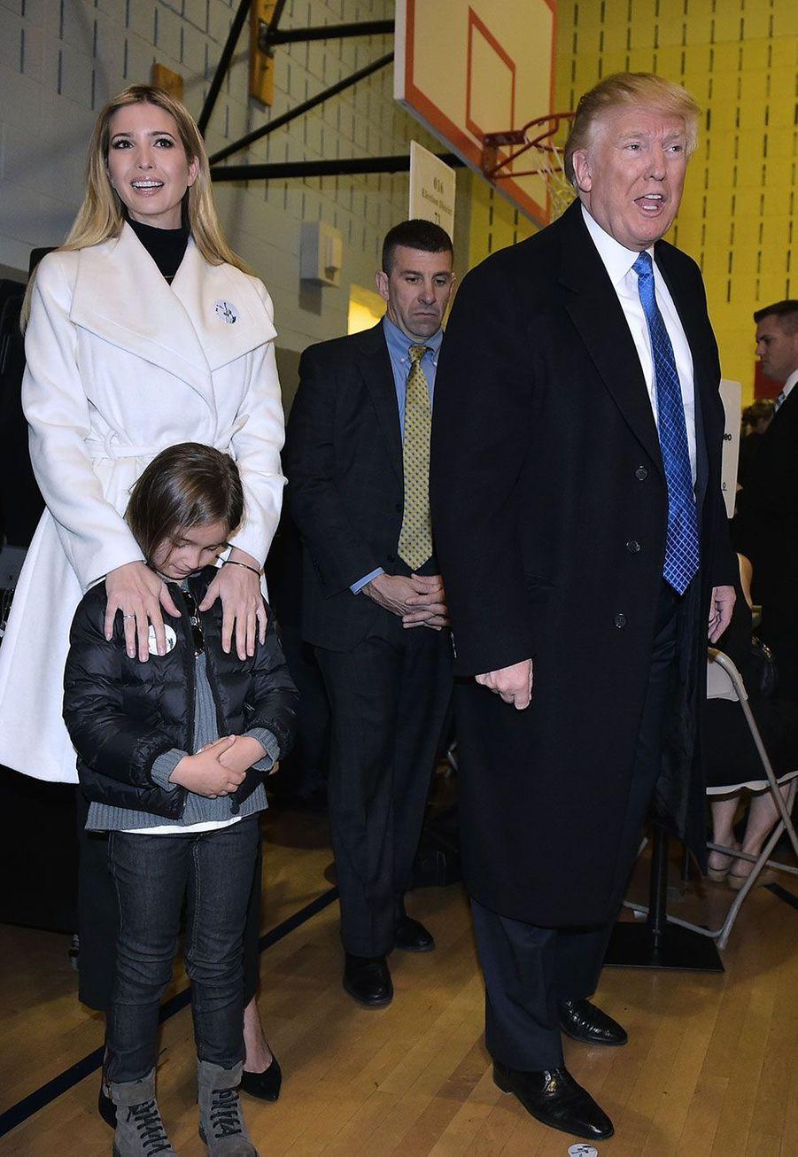 Ivanka Trump,Arabella Kushner et Donald Trump