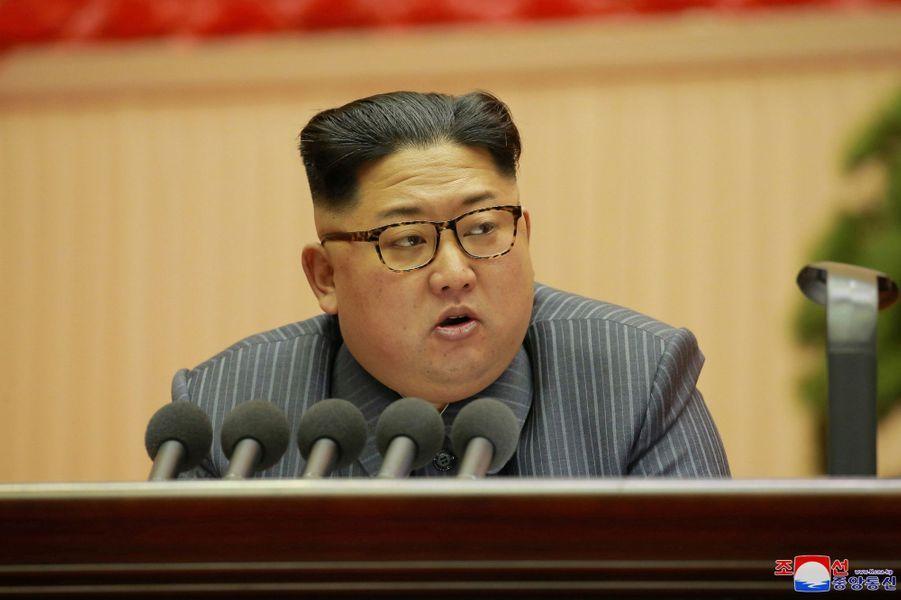 Kim Jong-un à Pyongyang, le 23 décembre 2017.