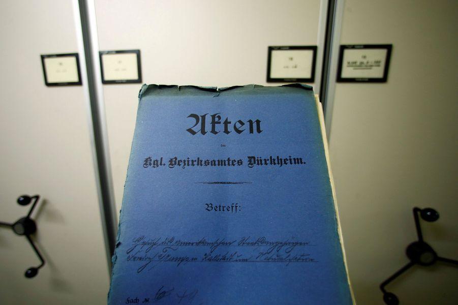 Le dossier de Friedrich Trump, le grand-père de Donald Trump, a été retrouvé aux archivesde Speyer, dans le land de Rhénanie-Palatinat (Allemagne).