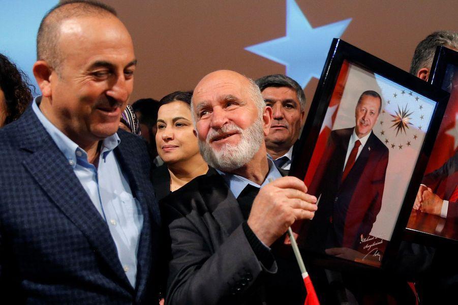 Leministre turcMevlut Cavusogluà Metz