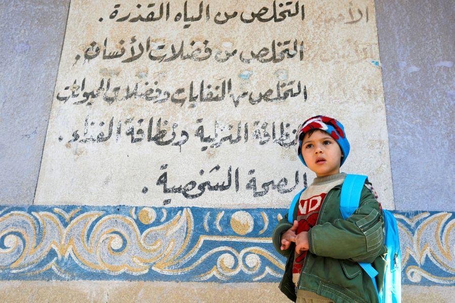 Les enfants de Mossoul ont pu reprendre l'école.