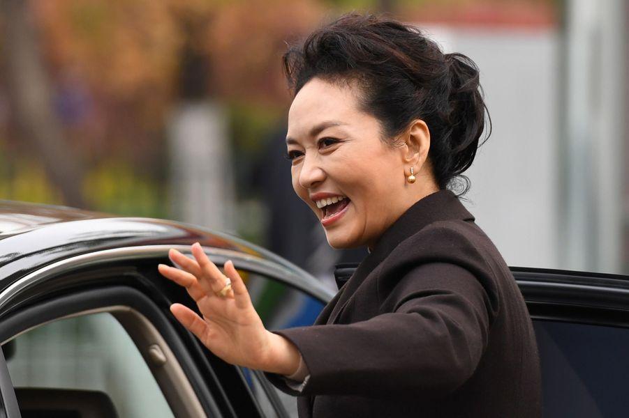 Peng Liyuan à Pékin, le 9 novembre 2017.
