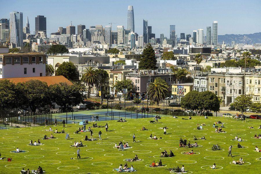 Le Dolores Park de San Francisco, jeudi.