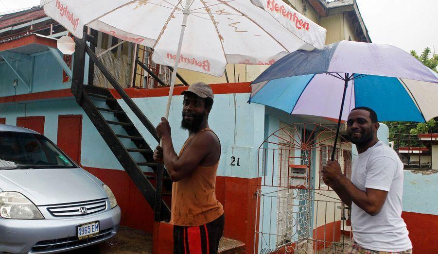 Les Jamaïcains gardent le sourire