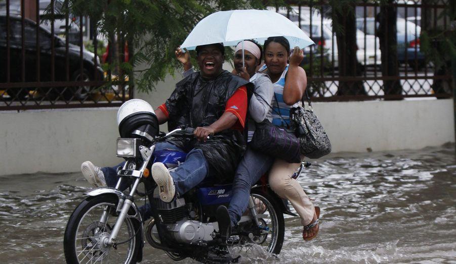 Les routes recouvertes d'eau