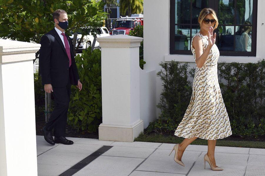La First Lady a voté ce mardi àPalm Beach en Floride.