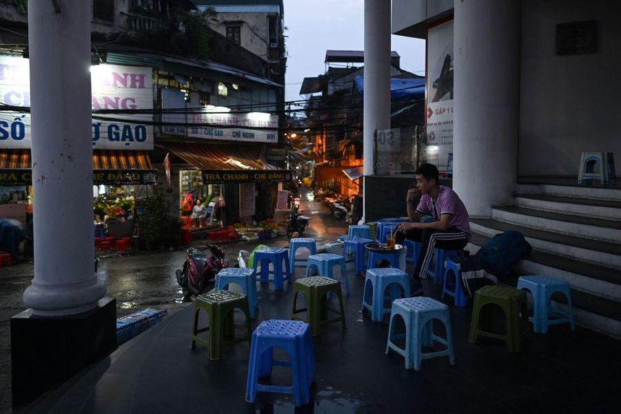 Hanoï, au Vietnam.
