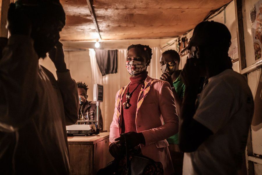 Kibera au Kenya.