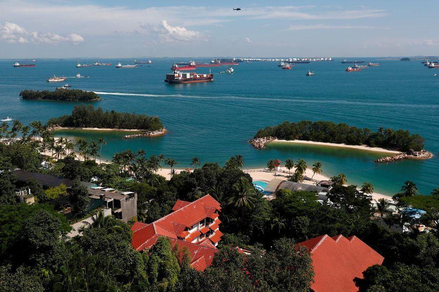 La rencontre entre Donald Trump et Kim Jong-un aura lieu sur l'île de Sentosa.