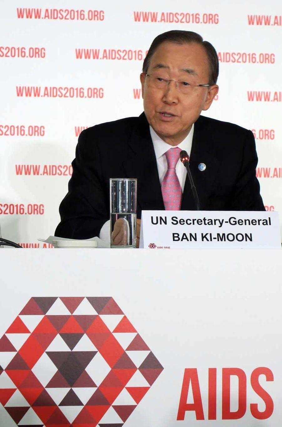 Ban Ki Moon à l'ouverture de la Conférence