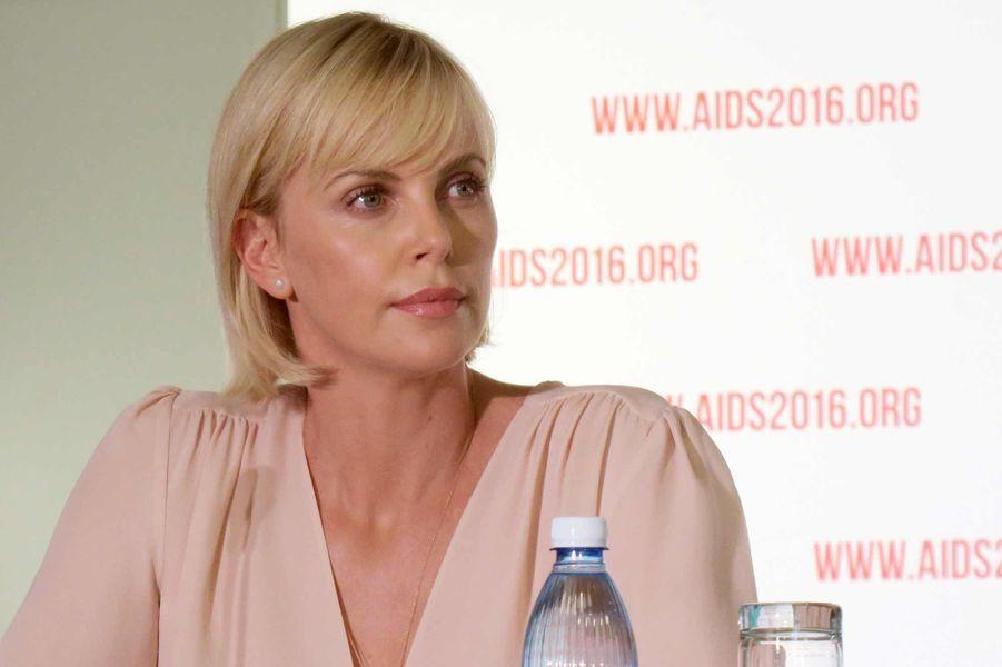 Charlize Theron à l'ouverture de la Conférence