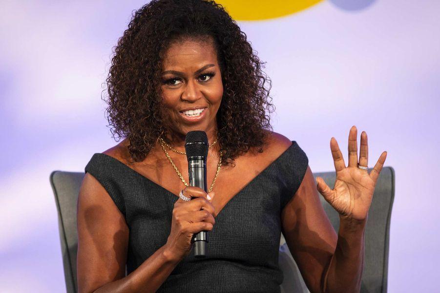 Michelle Obama à Chicago, le 29 octobre 2019.