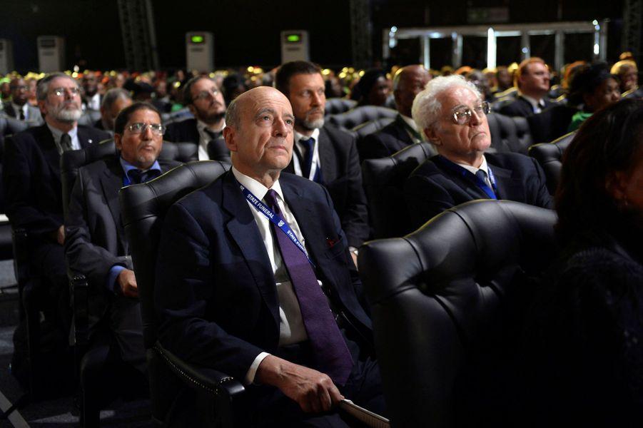 Alain Juppé et Lionel Jospin, ex-premiers ministres, représentaient la France