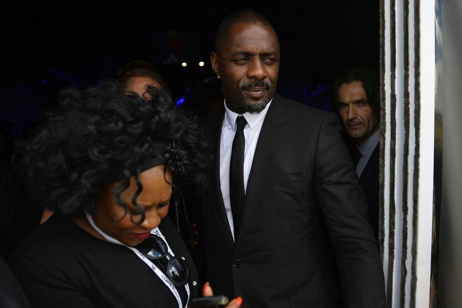 "Idris Elba, l'acteur qui incarne Mandela dans le film ""Un long chemin vers la liberté"", en salles mercredi"