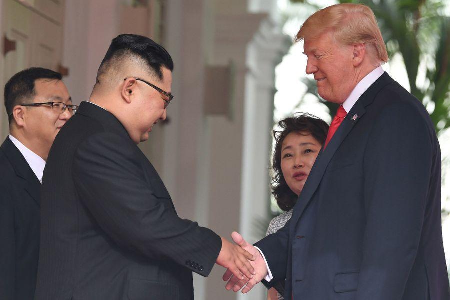 Kim Jong-un et Donald Trump